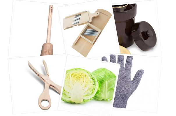 Starter kit for sauerkraut making